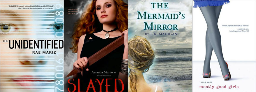 The-Unidentified_Slayed_The-Mermaids-Mirror_Mostly-Good-Girls-Covers