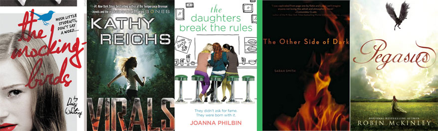Mockingbirds_Virals_Daughters-Break-the-Rules_The-Other-Side-of-Dark_Pegasus-Covers