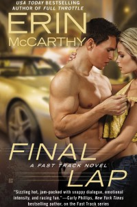 Book Cover of Final Lap by Erin McCarthy