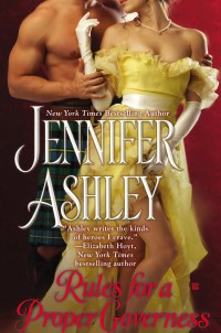Book Cover of Rules for a Proper Governess by Jennifer Ashley