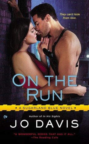 On The Run by Jo Davis Cover