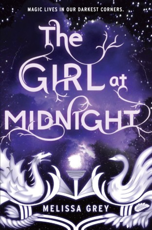 The Girl At Midnight by Melissa Grey Cover