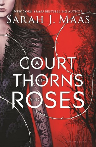 A Court of Thorns and Roses by Sarah Maas Cover