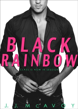 Black Rainbow by JJ McAvoy Cover