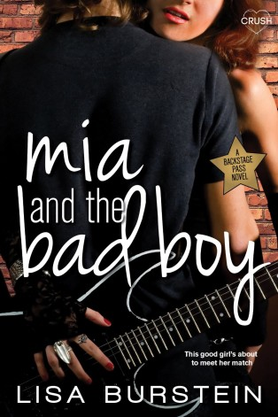 Mia and the Bad Boy by Lisa Burnstein Cover