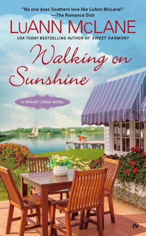 Walking on Sunshine by LuAnne McLane Cover