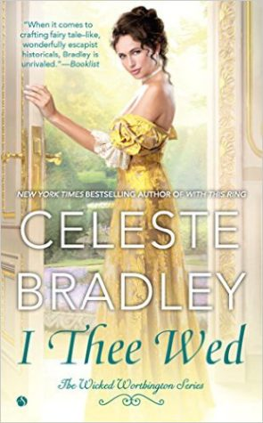Review: I Thee Wed by Celeste Bradley