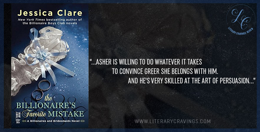 Review: The Billionaire's Favorite Mistake by Jessica Clare