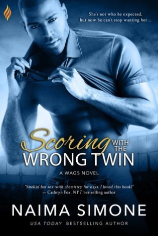 Review: Scoring with the Wrong Twin by Naima Simone